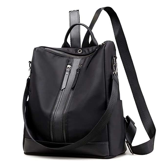 0f03411e50 LOKOUO shoulder bag spring and summer new female bag Oxford cloth double  zipper simple fashion backpack