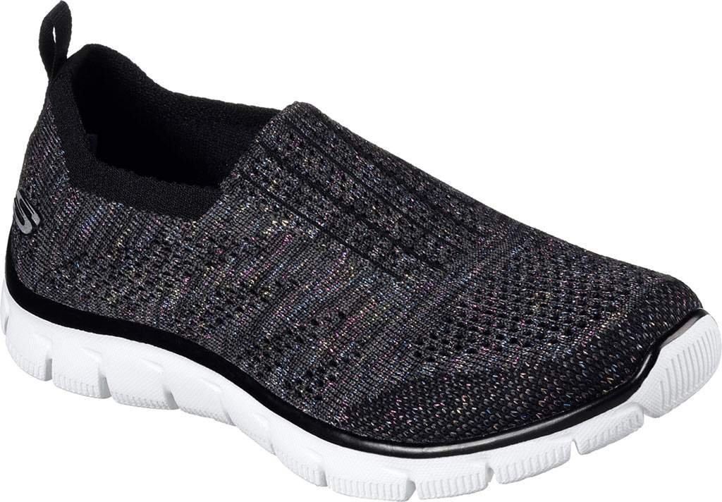 Skechers Sport Women's Empire Inside Look Fashion Sneaker B01IVMH4MU 9 B(M) US|Black Mint