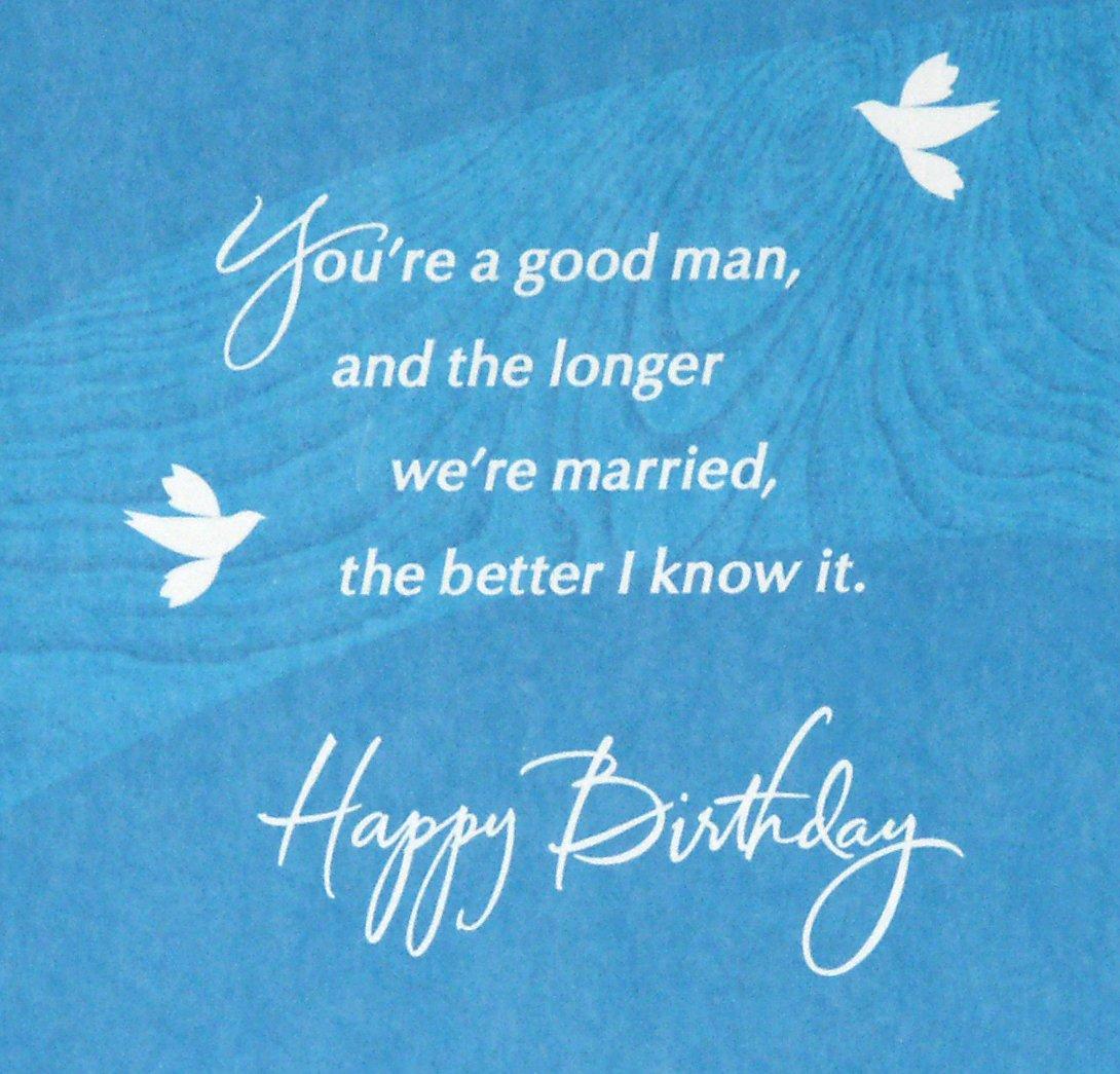 Hallmark Birthday Greeting Card For Husband Doves On Rock