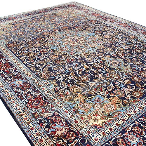 12.4' x 9.3' Brown Color floral Rug, Wool Hand Knotted Rug, Floral design Oriental Rug, Code: S0101160 , Vintage Floor Rug,Traditional Fancy Carpet