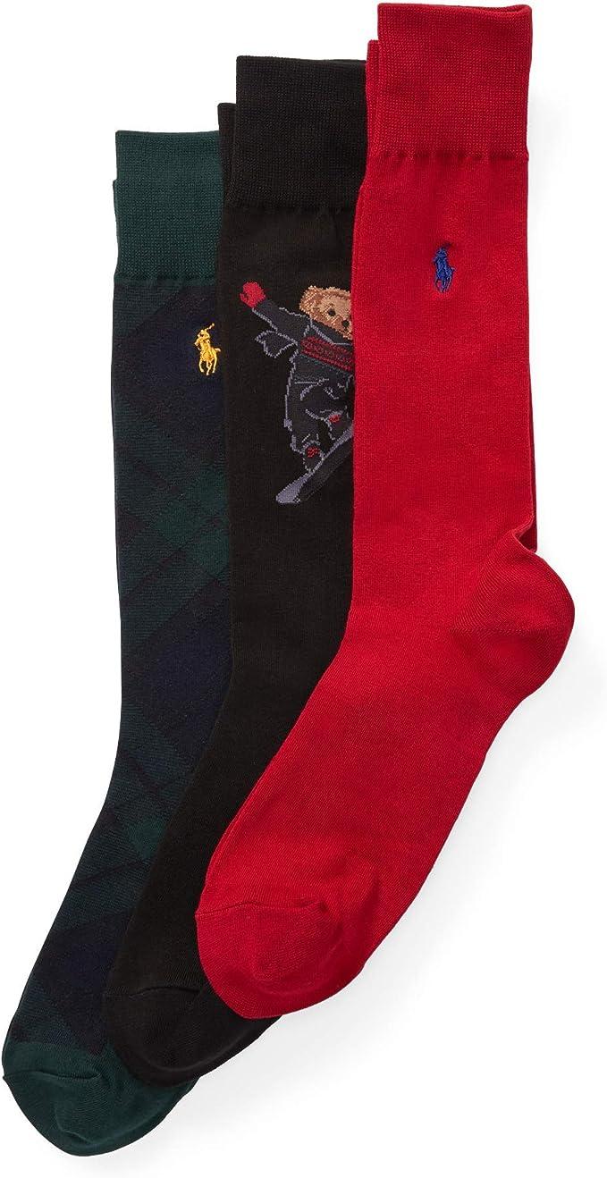 Ralph Lauren - Paquete de 3 calcetines Supersoft Oso snowboard ...