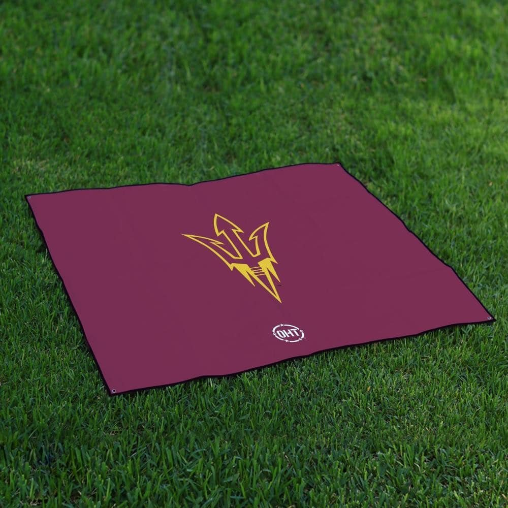 Arizona State Asu Sun DevilsテールゲートBlanket操作Hat Trick Oht Legacy B072HSYLXC