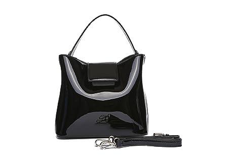 1bcea618a86 MAMBO DE OTROS MUNDOS Bolsos mujer, bolsos de fiesta y diario, clutch negro,