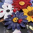 Refrigerator Magnets, Fridge Magnets, Glass Magnets, Whiteboard Magnets, Office Magnets for Magnetic Whiteboard, Calendar Magnets, Map Magnets, Cute Colorful Fun Decoration (Flower)