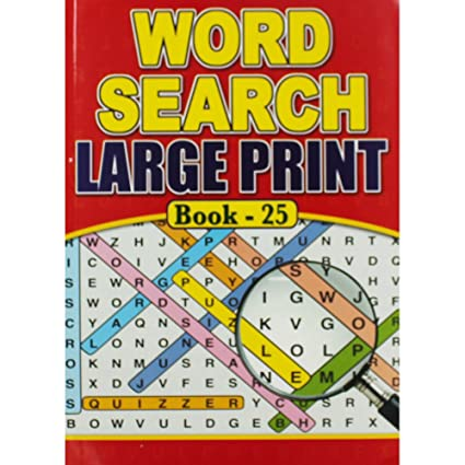 image relating to Large Print Word Search Printable known as WFGraham Tremendous High Print Wordsearch - Varied