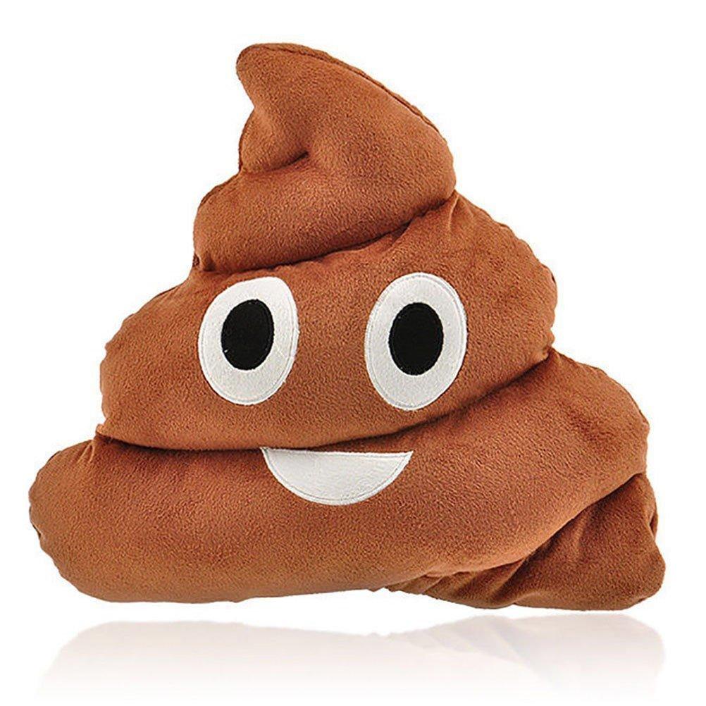 PIXNOR Morbido cuscino Emoji cuscino Smiley Emoticon Cuscino farcito giocattolo molle della bambola del regalo
