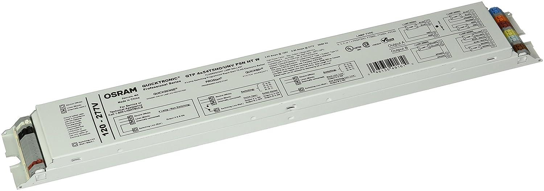 SYLVANIA Quicktronic 49161 - (4) Lamp Fluorescent Ballast - F54T5/HO - 120/277 Volt - Programmed Start - 1.0 Ballast Factor CECOMINOD069758