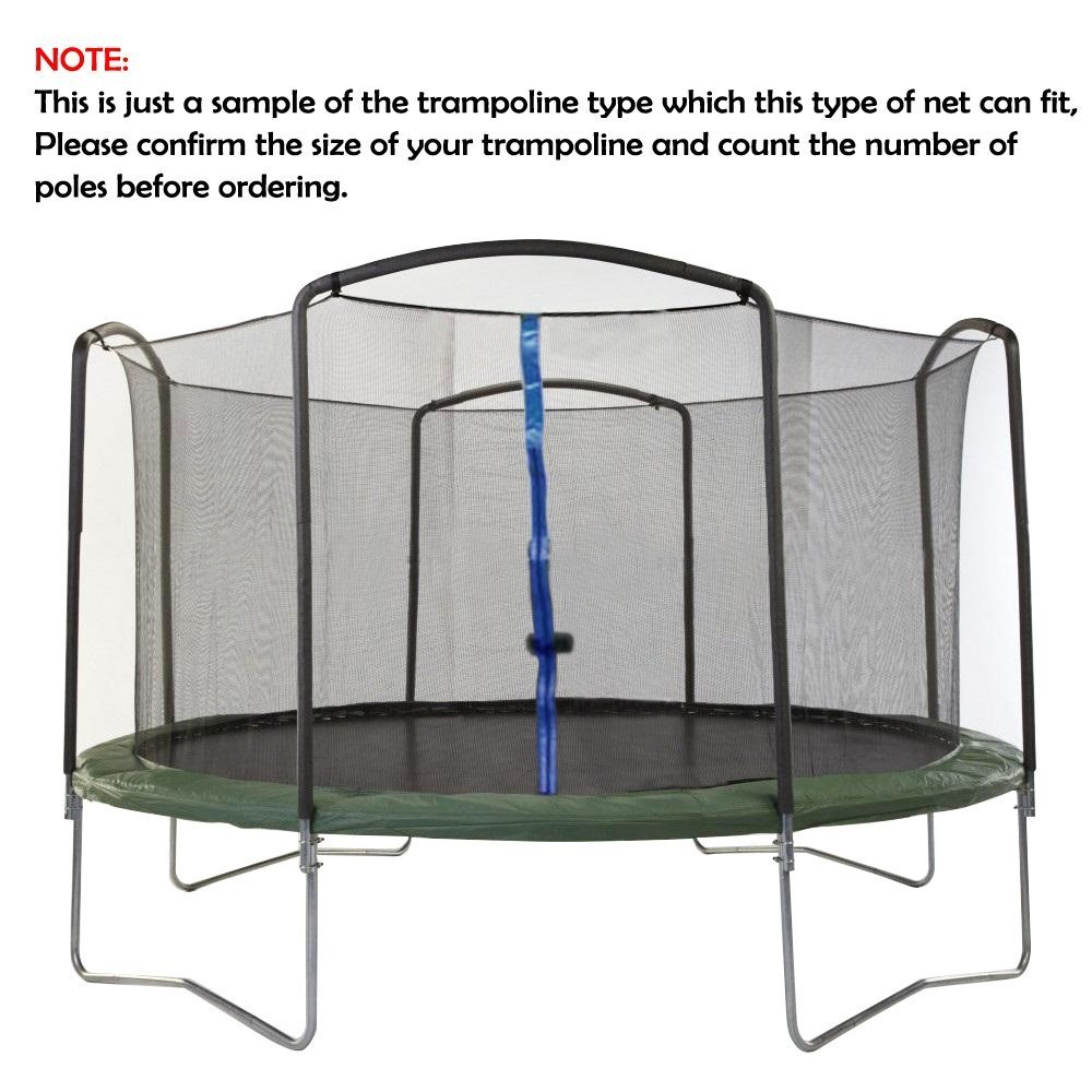 ULTRAPOWER SPORTS Trampoline 13Ft Replacement Safety Enclousure Net for 4 Arched Supports or 8 Straight Poles Round Frame Trampolines (Net Only) … by ULTRAPOWER SPORTS (Image #6)