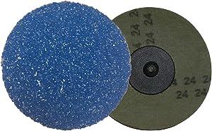 Shark 3350ZGT 3-Inch Grit-50 Resin Fiber Zirconia Grinding Discs, 25-Pack