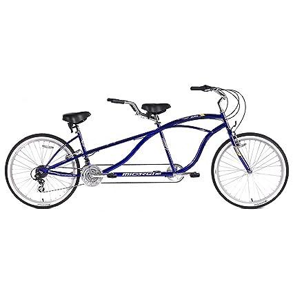 Micargi Island Tandem Bicycle, Blue, 26-Inch best tandem bikes