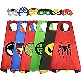WIKI Regalos Niño 3-12 Años,Juguetes al Aire Libre para niños de 3-10 años Superhéroe Capes Disfraces para niños Regalos…