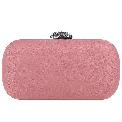 Amazon.com: Fawziya Baguette - Bolso de mano con cristales ...