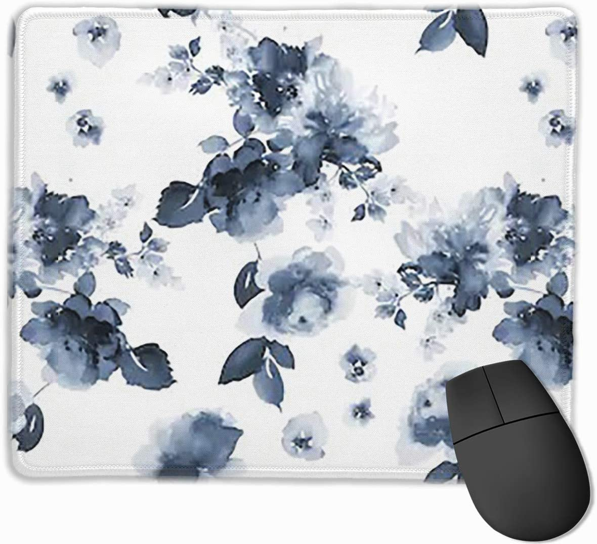 2530 Joyce-life Summer Flowers Mouse Pads for Computers Laptop Non-Slip Rubber Base Stitched Edge Waterproof Office Mouse Pad Office Gaming Computer at Home Or Work Size