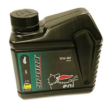 eni Sport 10 W-60 Rendimiento Aceite de motor, 1 L: Amazon.es: Coche y moto