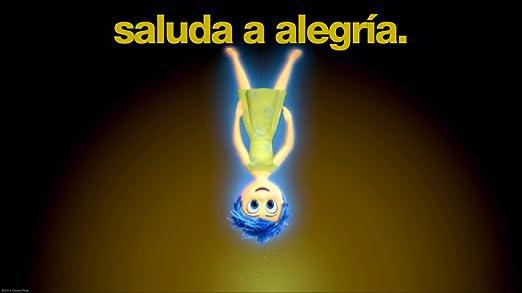 Del revés (Inside out) Disney - Peluche de Felpa Alegría, 25 cm (23061): Amazon.es: Juguetes y juegos