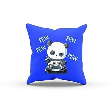 Nerdo gaming panda déco coussin coussin canapé coussin coussin idée cadeau