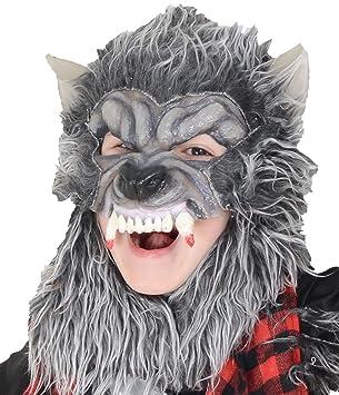 Del niño niños niños de Halloween hombre lobo máscara accesorio para la cabeza: Amazon.es: Juguetes y juegos