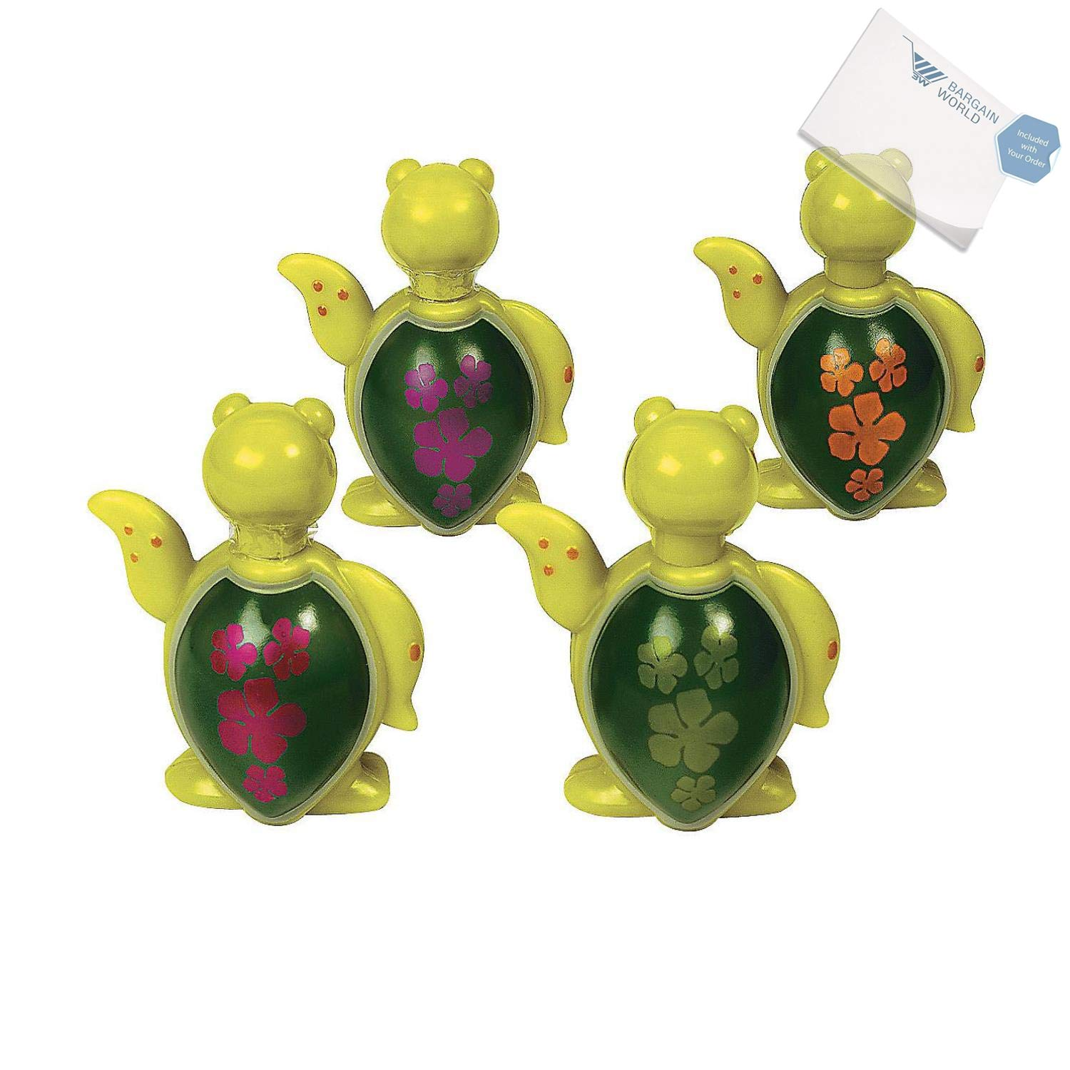 Bargain World Plastic Sea Turtle Bubble Bottles (With Sticky Notes) by Bargain World (Image #2)