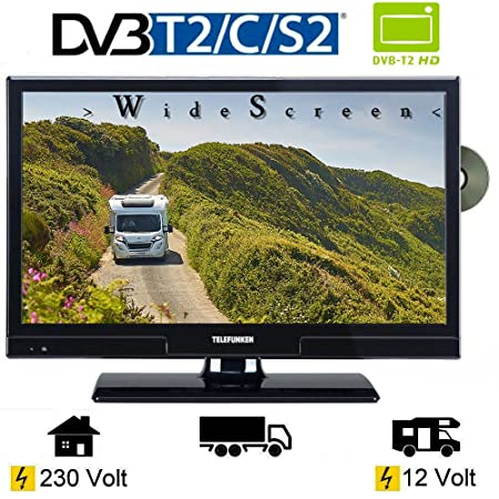Telefunken T20X740 Mobile LED TV 20 Inches 51 cm DVB/S: Amazon co uk