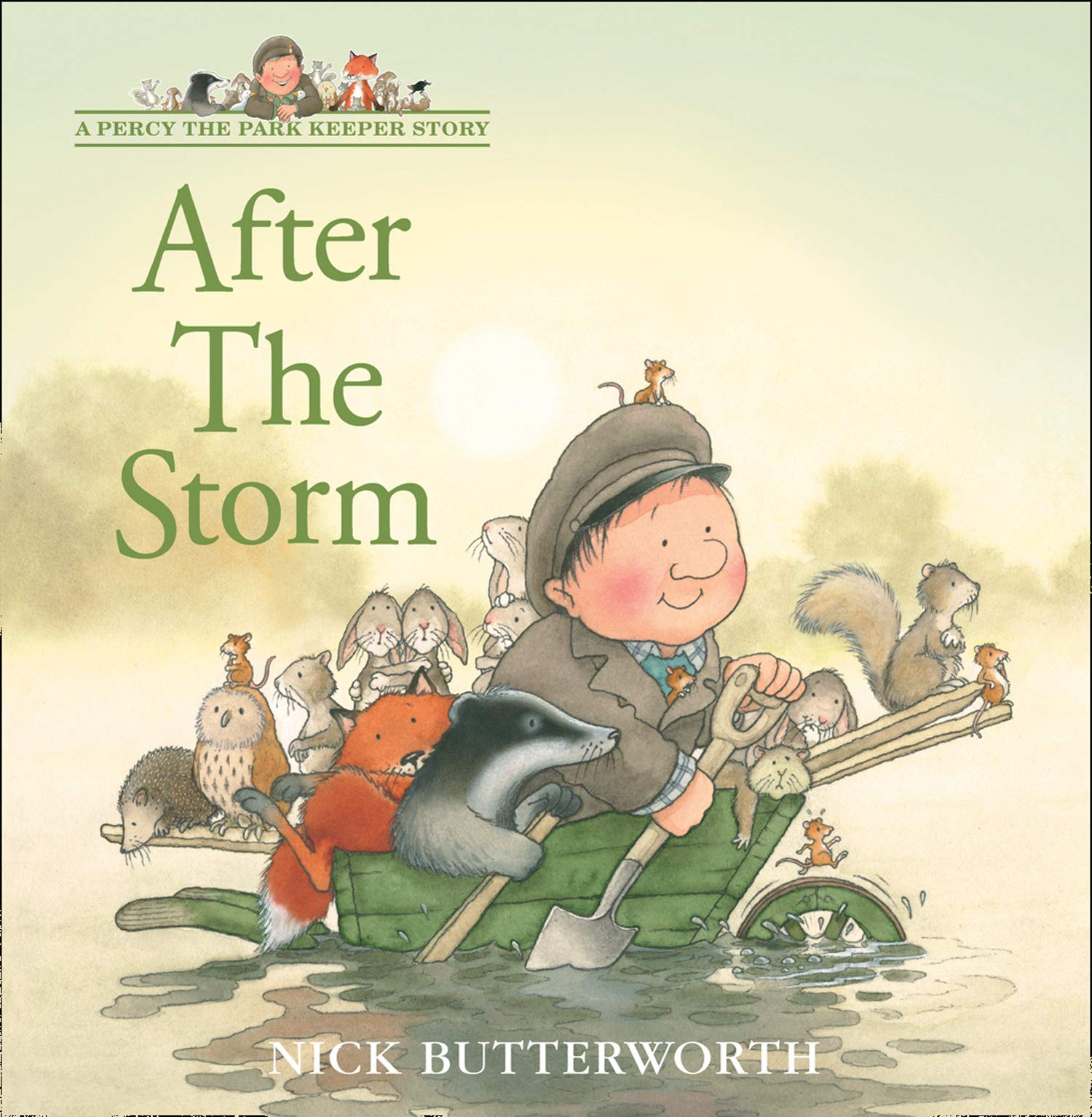 After the Storm (A Percy the Park Keeper Story) : Butterworth, Nick,  Butterworth, Nick: Amazon.co.uk: Books
