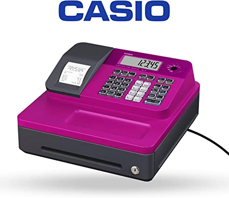 Casio SEG1PK - SE-G1 Caja registradora, Color Rosa: Amazon.es: Electrónica