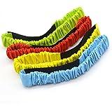 Freehawk® Three Legged 3-Legged Race Band Race Strap Elastic Tie Rope Backyard Relay Game Party Game 4PCS Pack