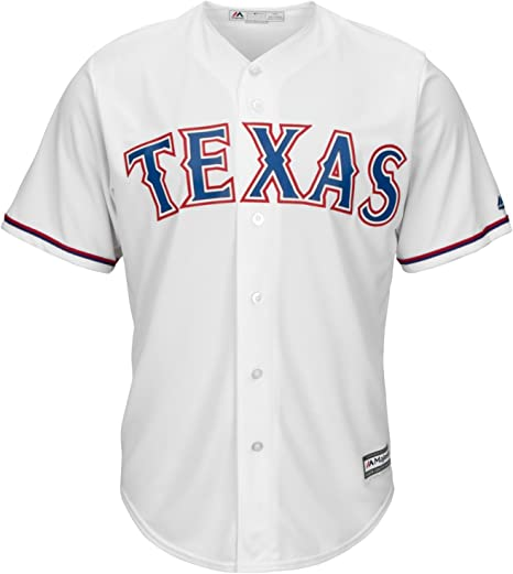 Majestic Athletic MLB Texas Rangers Cool Base Home Jersey XX Large: Amazon.es: Deportes y aire libre