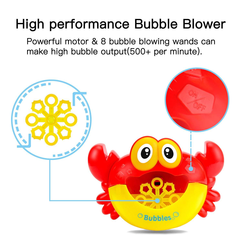 Amazon.com: Máquina de burbujas, soplador automático de ...