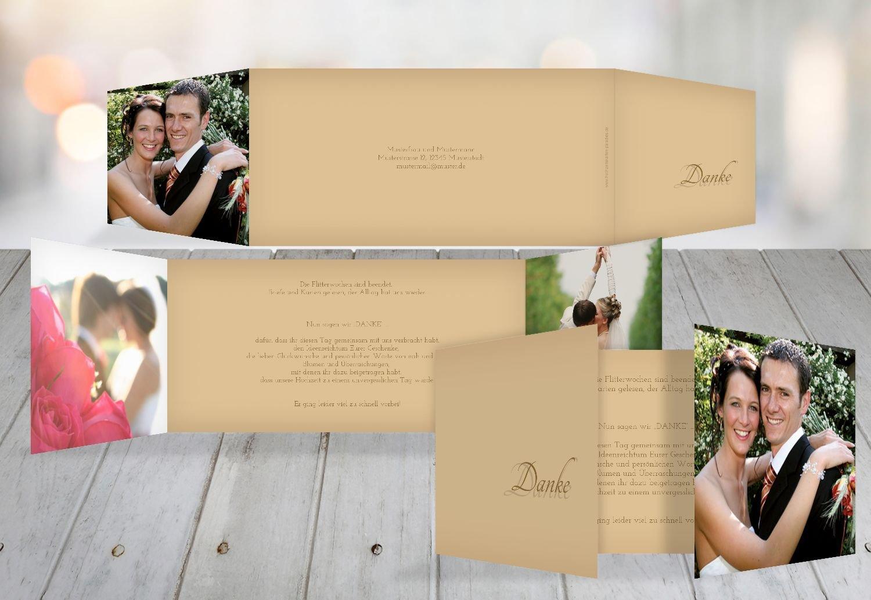 Kartenparadies Danksagung für Hochzeitsgeschenke Hochzeit Danke 3 Liebesmoment, hochwertige Danksagungskarte Danksagungskarte Danksagungskarte Hochzeitsglückwünsche inklusive Umschläge   20 Karten - (Format  215x105 mm) Farbe  Hellbraun B01MR8K478 | Export  | Verschie 33d030