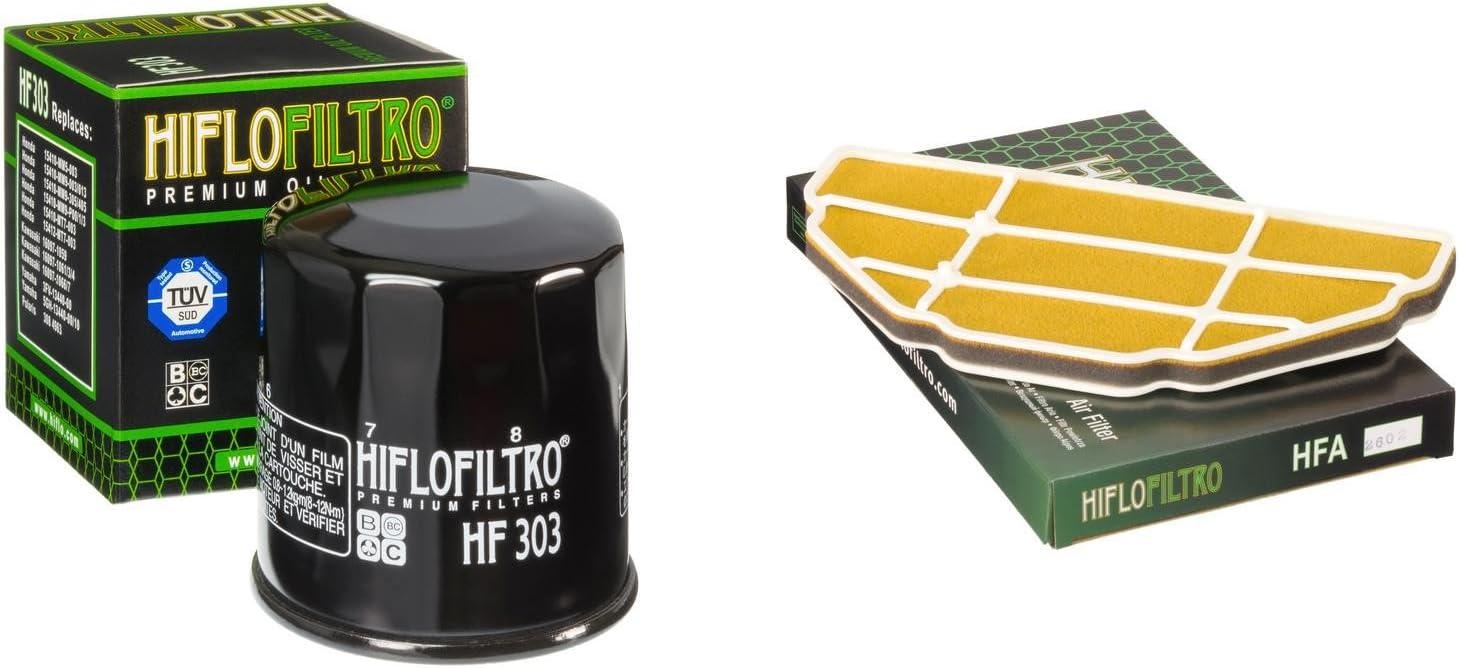 Hiflo Air Filter Fits Kawasaki ZX600 J1-J2 ZX6-R Ninja 00-01