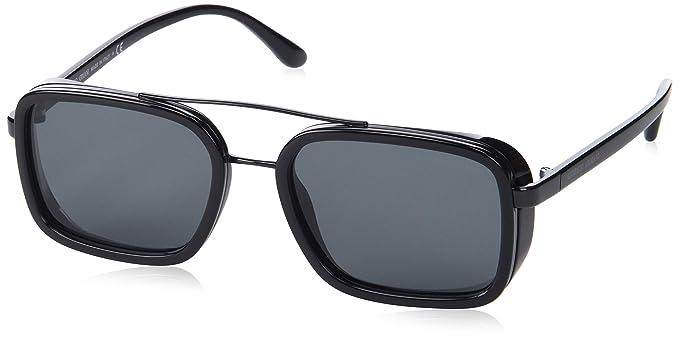 Armani 0AR6063 300187 53 Gafas de sol, Negro (Black/Grey ...