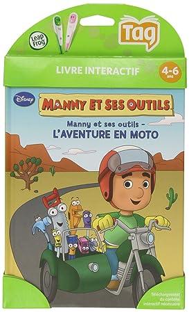 Leapfrog 80193 Jeu Educatif Livre Mon Lecteur Leap Tag Manny Et Ses Outils Disney