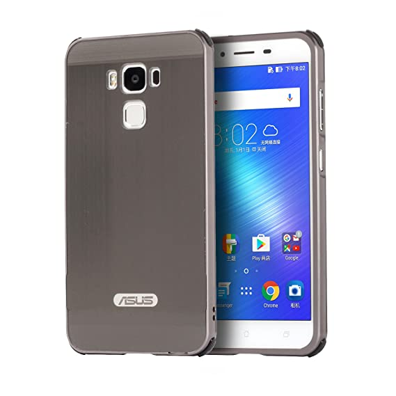 new arrival 1715d 726fa XMT Asus ZenFone 3 Max ZC553KL Case,Luxury Metal Frame+Hard Back Case 2 in  1 Cover Ultra-Thin Frame Case for Asus ZenFone 3 Max ZC553KL (5.5 Inch,2016  ...