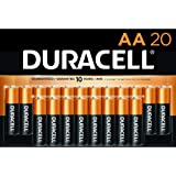 Duracell - CopperTop AA Alkaline Batteries - long lasting, all-purpose Double A battery for household and business - 20…