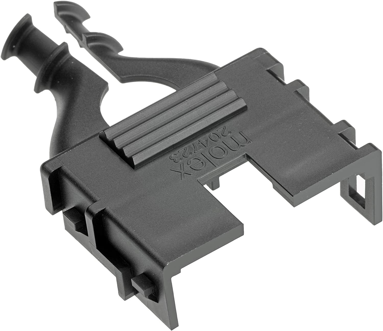 Pack of 100 204723-0008 8 Position Hermaphroditic Backshell Connector Backshell 204723-0008