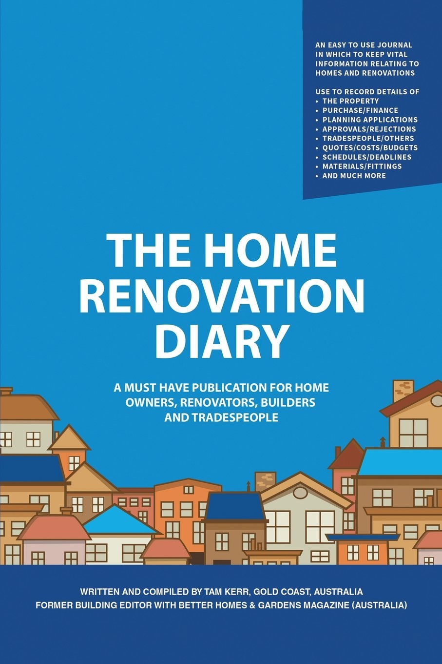 buy the home renovation diary a must have publication for home