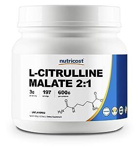 Nutricost L-Citrulline Malate (2:1) Powder (600 Grams)