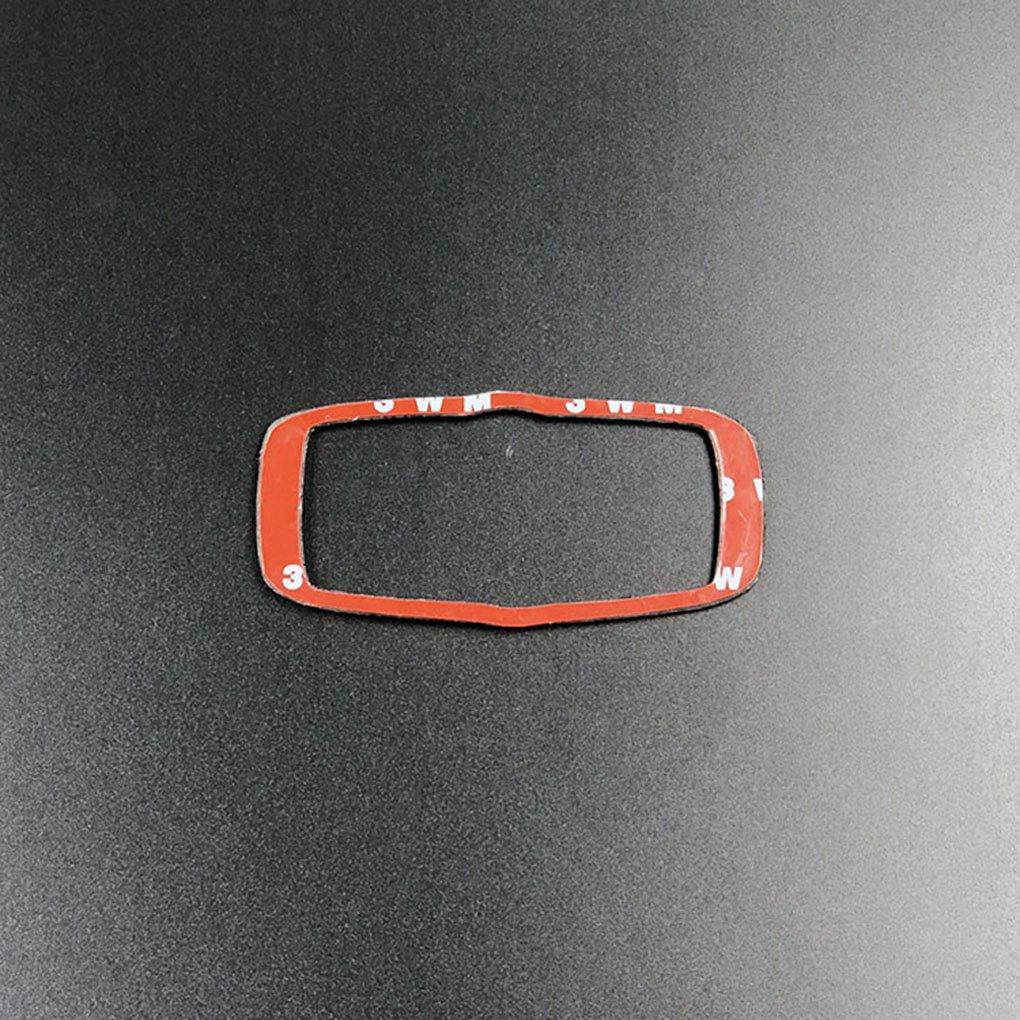 fgyhtyjuu Fibra de Carbono Linterna del Coche bot/ón Interruptor de Control de Cubierta del Panel de Acabado y decoraci/ón de Accesorios para BMW X5 X6 E70 E71 2008-2013