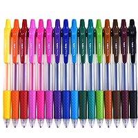 16-Count Smart Color Art 0.7mm Point Retractable Gel Pens