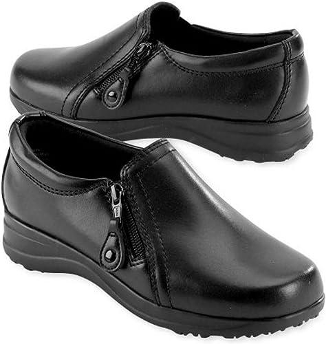 Gel-Pac Zippered Loafers, Wide Width