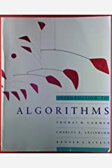 Introduction to Algorithms (Mit Electrical Engineering and Computer Science Series) Paperback