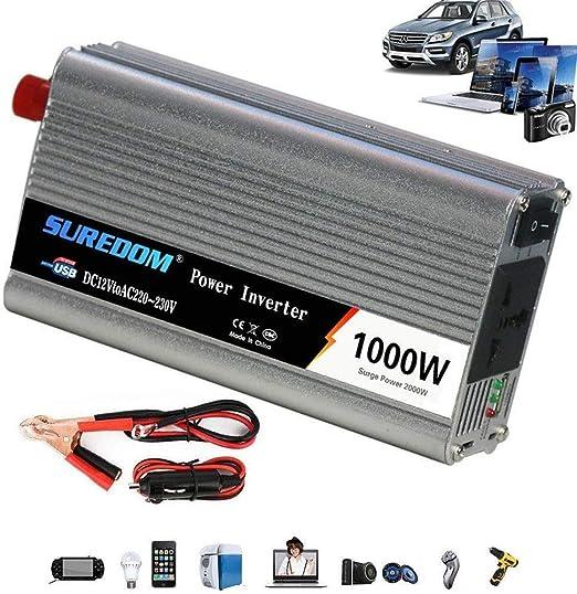 GQLB coche convertidor Convertidor de corriente 12V / 24V a 110V ...