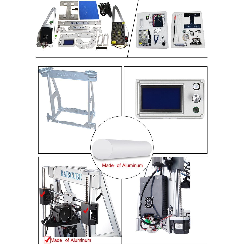 RAISCUBE 3d Printer brand new Aleación de aluminio Arquitectura ...