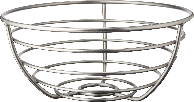 Spectrum Diversified Euro Fruit Bowl & Produce Basket Modern Countertop Food Storage for Fruits & Vegetables, Sleek Design With Sturdy Steel Construction