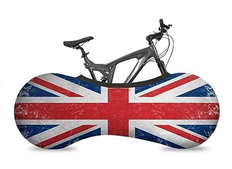 VELOSOCK Funda Cubre Bicicletas para Interiores - UK Flag - La ...