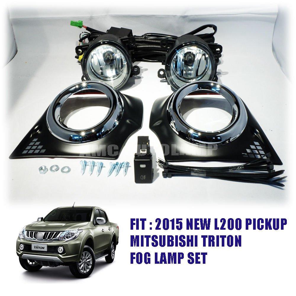 Fit 2015 2016 2017 Mitsubishi New Triton L200 Pickup Fog Lamp Spot Toyota Land Cruiser 300 Light Set Car Motorbike