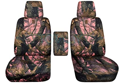 Wondrous 2004 2008 Ford F 150 Camo Truck Bucket Seat Covers With Center Armrest W Wo Integrated Seat Belts Pink Real Tree Camouflage 16 Prints 2005 2006 Caraccident5 Cool Chair Designs And Ideas Caraccident5Info