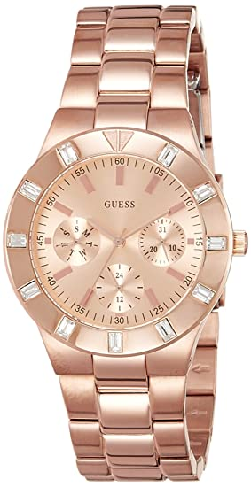 Amazon.com: Reloj guess glisten W16017L1 Womens quartz watch: Guess: Watches