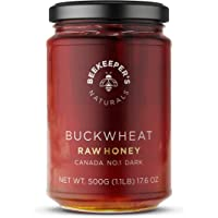BEEKEEPER'S NATURALS Buckwheat Honey - Unprocessed Ultra-Pure Honey, Containing No Additives - High In Antioxidants and…