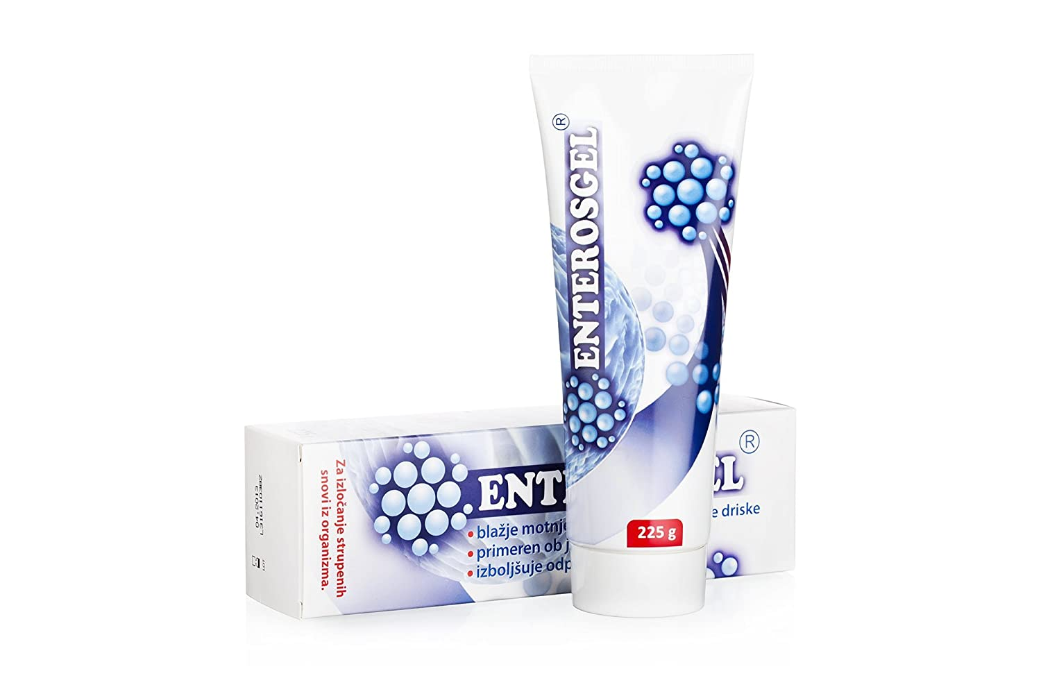 ENTEROSGEL Toxin Binding Gel For Cleansing The Gut 225G Pack Of 5